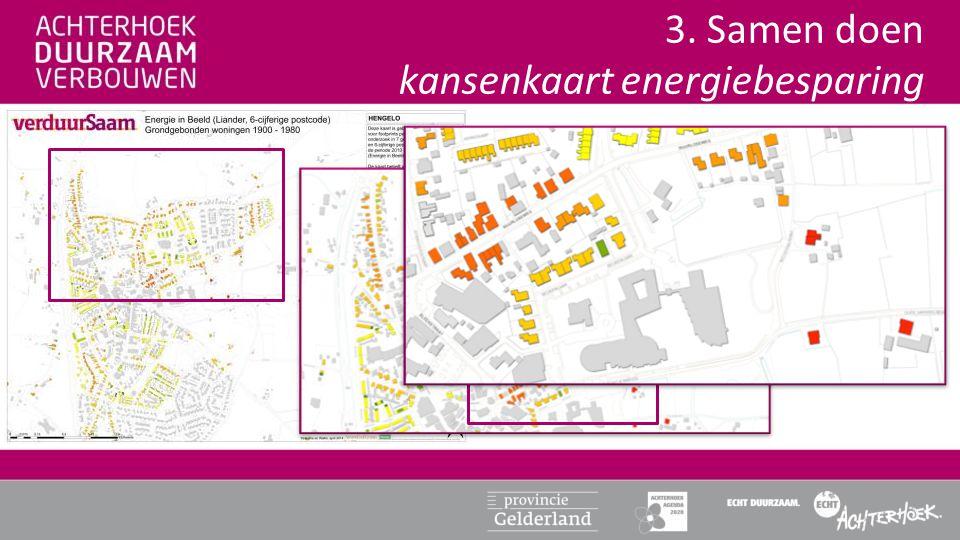 3. Samen doen kansenkaart energiebesparing