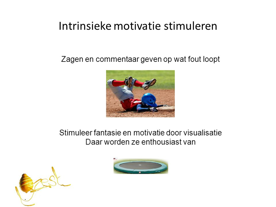 Intrinsieke motivatie stimuleren