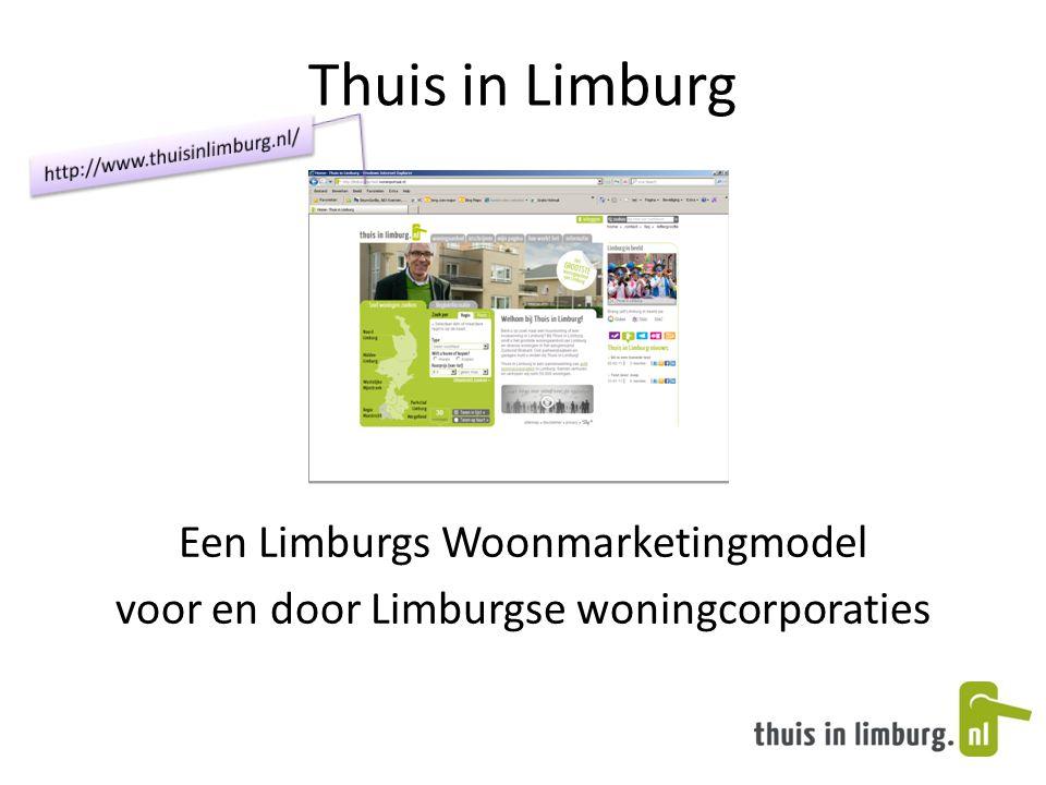 Thuis in Limburg Een Limburgs Woonmarketingmodel