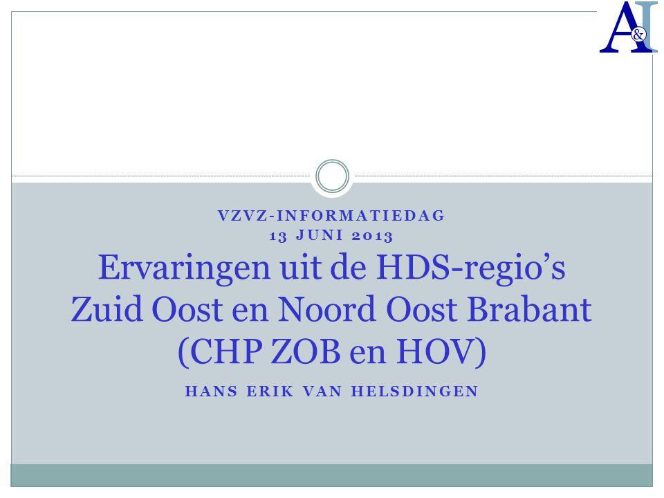 VZVZ-informatiedag 13 juni 2013 Hans Erik van Helsdingen