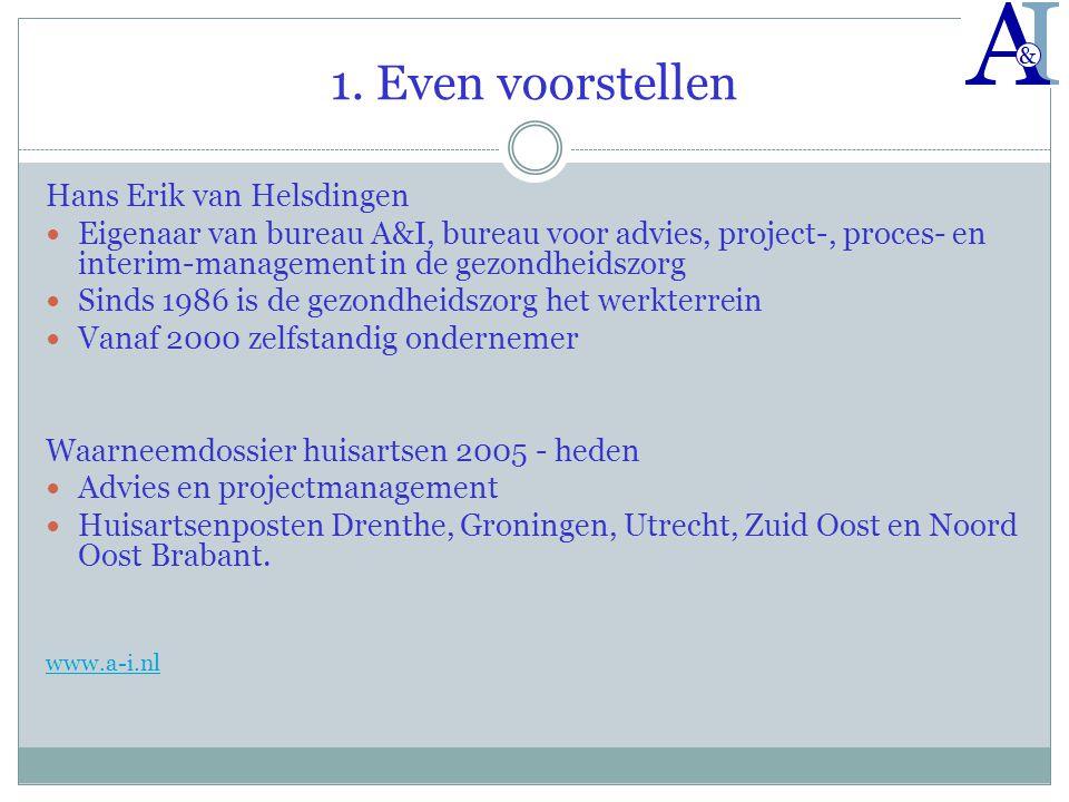 1. Even voorstellen Hans Erik van Helsdingen