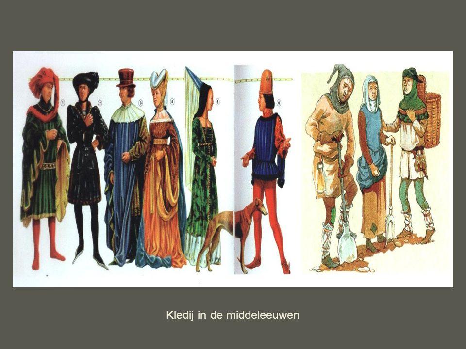 Kledij in de middeleeuwen