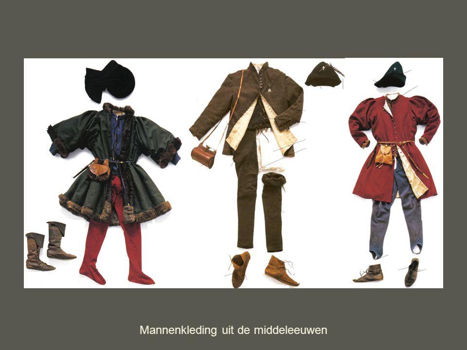 Mannenkleding uit de middeleeuwen