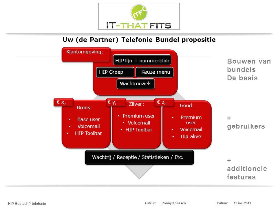 Uw (de Partner) Telefonie Bundel propositie