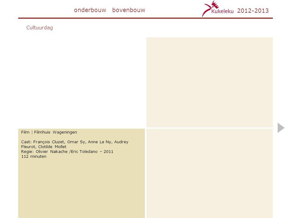 onderbouw bovenbouw 2012-2013 Cultuurdag Film | Filmhuis Wageningen