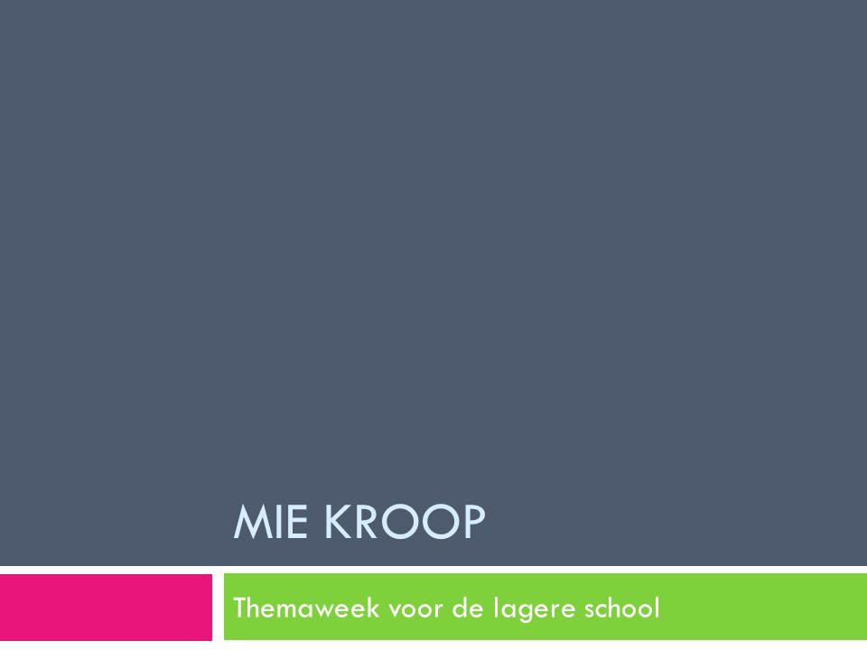 Themaweek voor de lagere school
