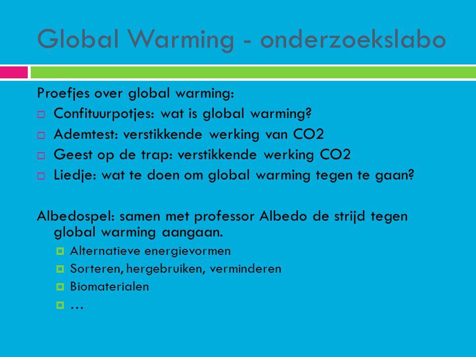 Global Warming - onderzoekslabo