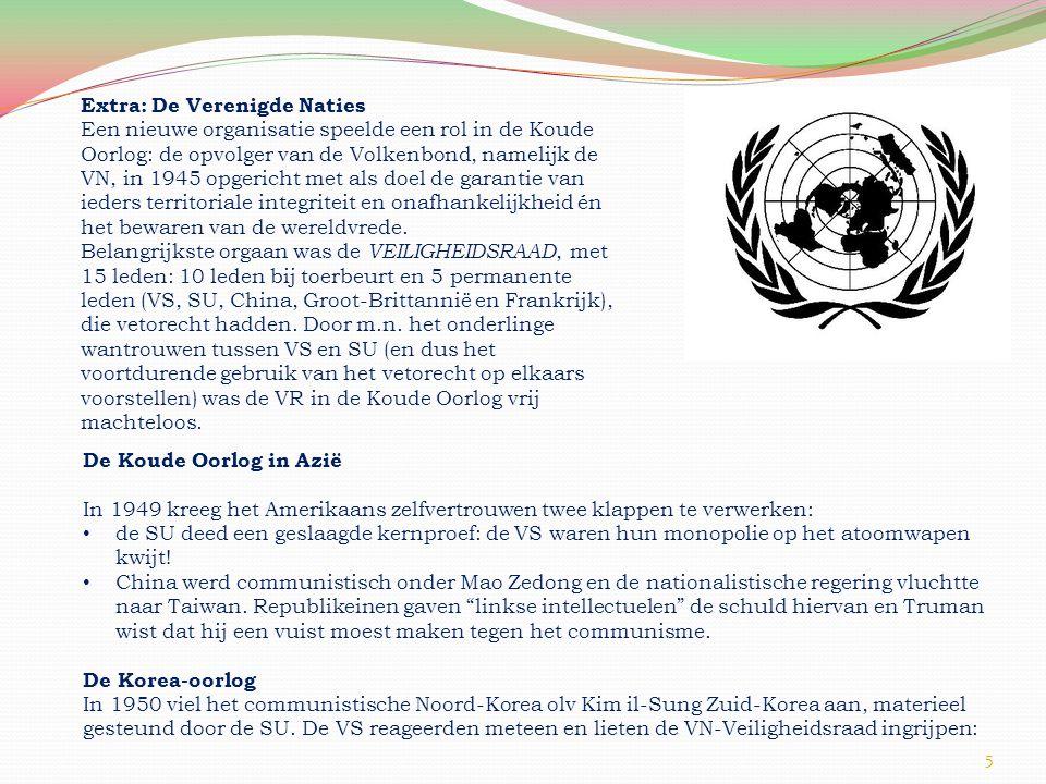 Extra: De Verenigde Naties
