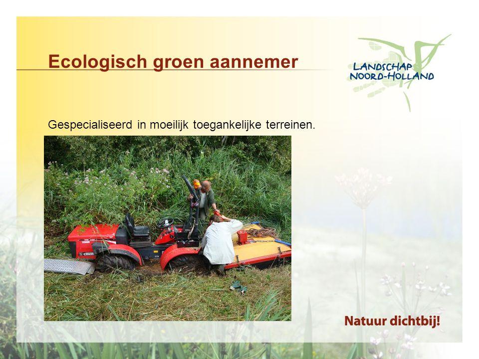Ecologisch groen aannemer