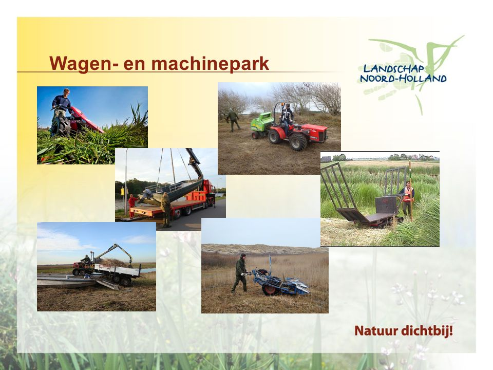 Wagen- en machinepark