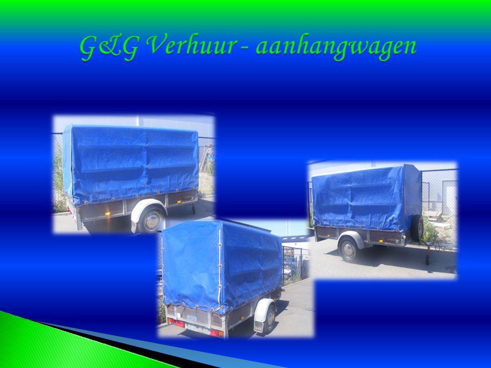 G&G Verhuur - aanhangwagen