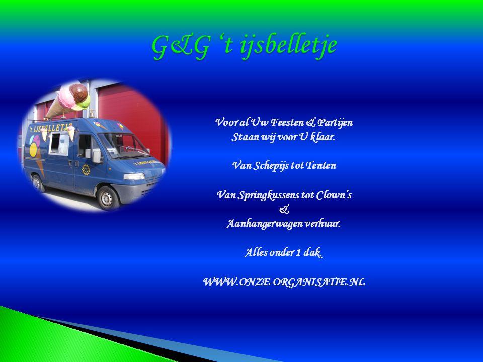 G&G 't ijsbelletje Voor al Uw Feesten & Partijen