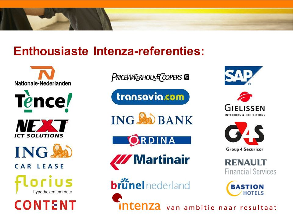 Enthousiaste Intenza-referenties: