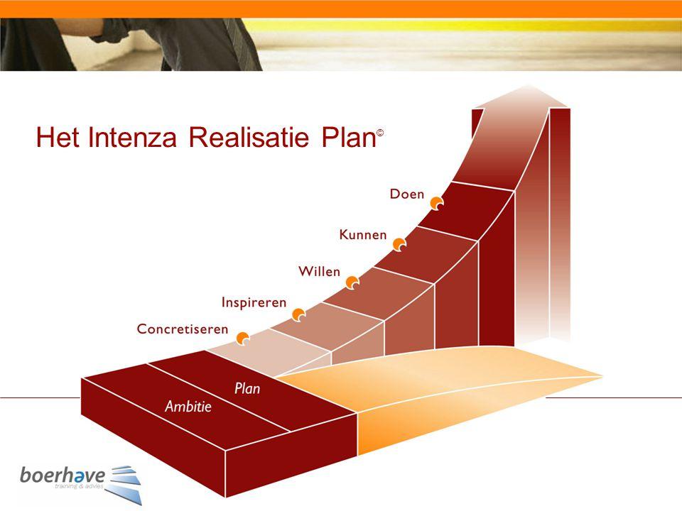 Het Intenza Realisatie Plan©