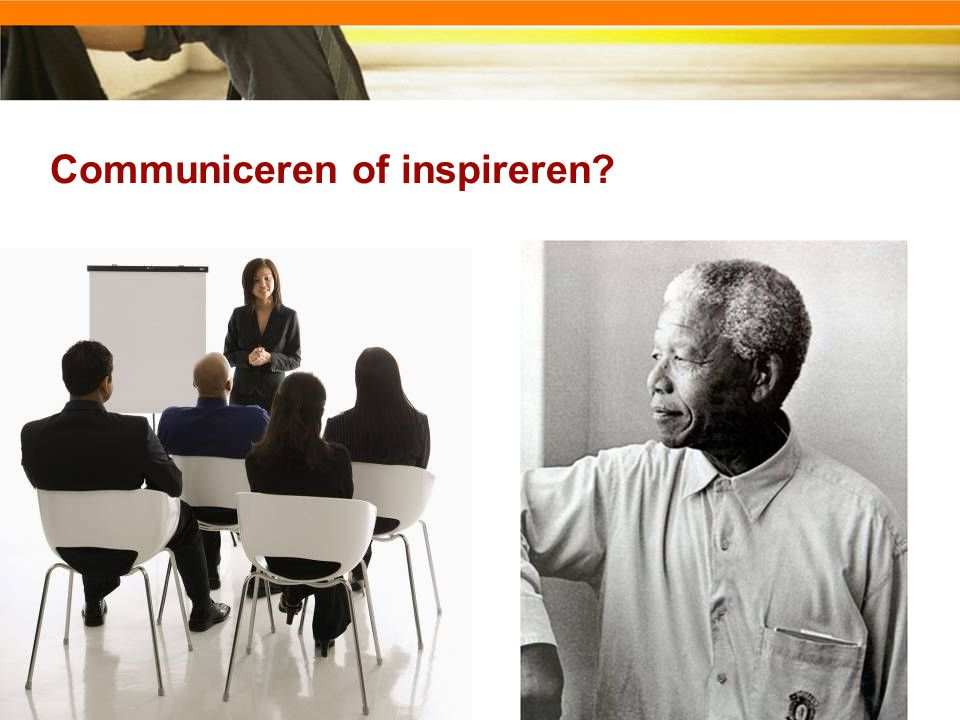 Communiceren of inspireren