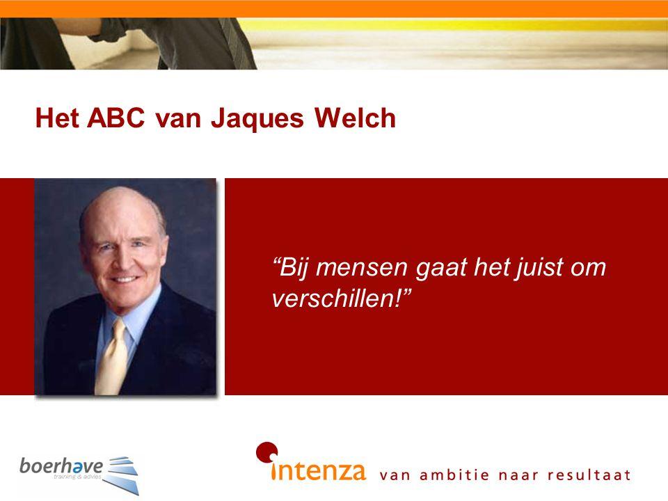 Het ABC van Jaques Welch