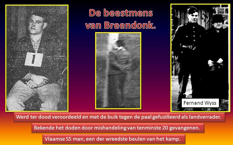 De beestmens van Breendonk.