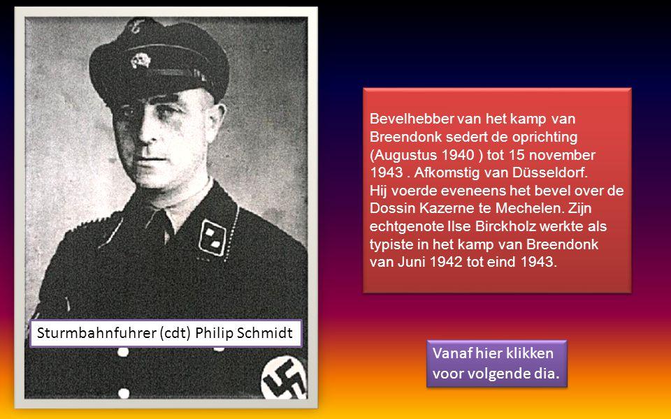 Sturmbahnfuhrer (cdt) Philip Schmidt Vanaf hier klikken