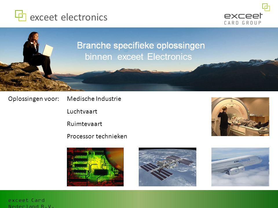 exceet electronics binnen exceet Electronics