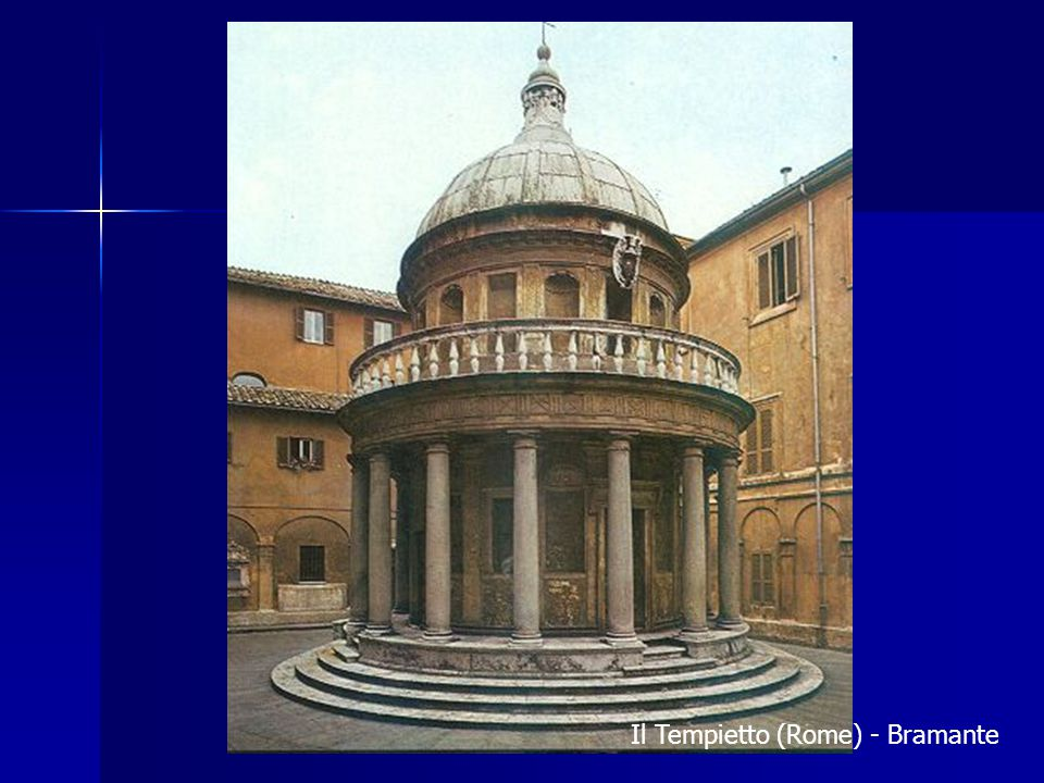 Il Tempietto (Rome) - Bramante