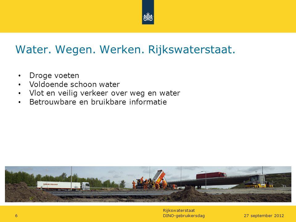 Water. Wegen. Werken. Rijkswaterstaat.