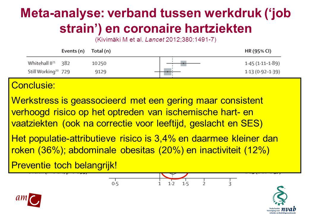(Kivimäki M et al. Lancet 2012;380:1491-7)