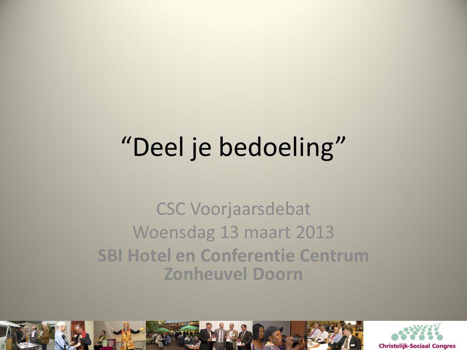 SBI Hotel en Conferentie Centrum Zonheuvel Doorn