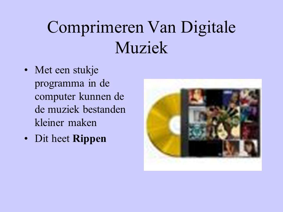 Comprimeren Van Digitale Muziek