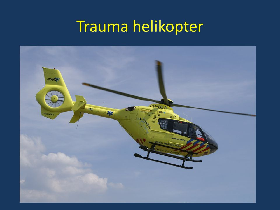 Trauma helikopter
