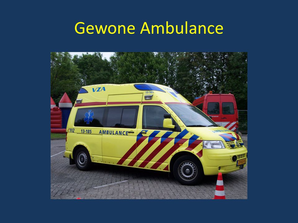 Gewone Ambulance