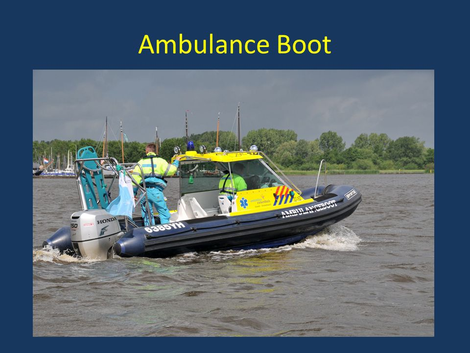 Ambulance Boot