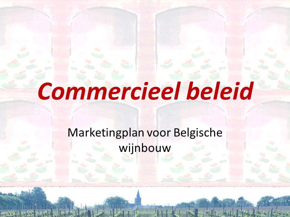 Marketingplan voor Belgische wijnbouw