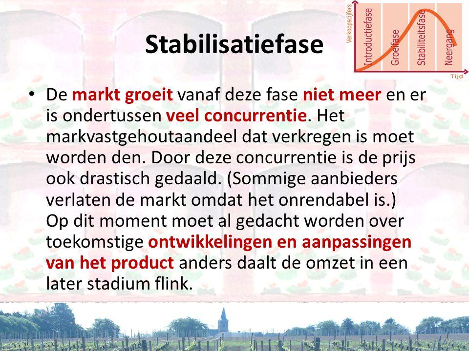 Stabilisatiefase