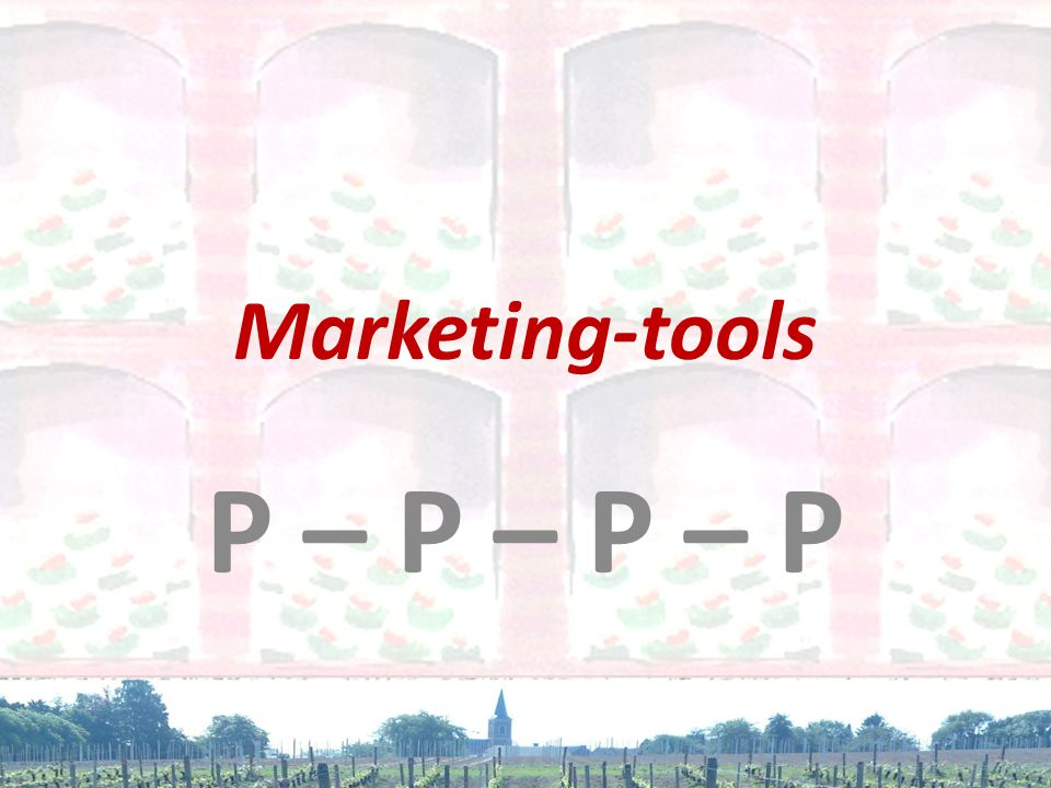 Marketing-tools P – P – P – P