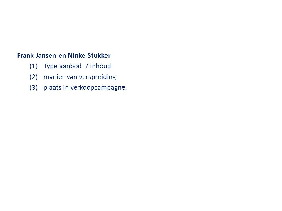 Frank Jansen en Ninke Stukker