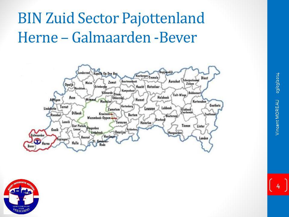 BIN Zuid Sector Pajottenland Herne – Galmaarden -Bever