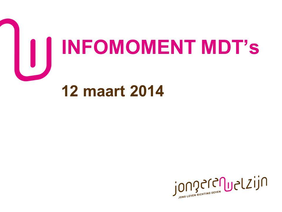 INFOMOMENT MDT's 12 maart 2014