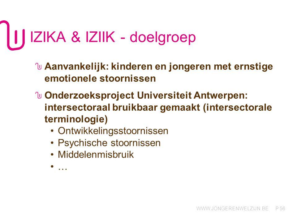 IZIKA & IZIIK - doelgroep