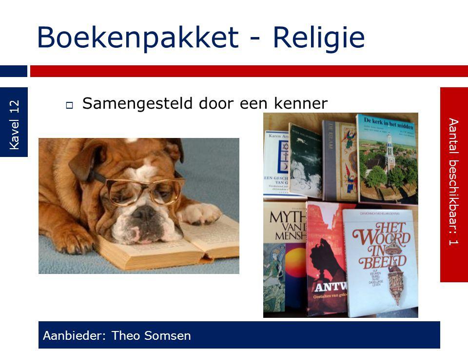 Boekenpakket - Religie