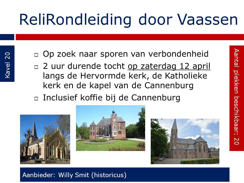 ReliRondleiding door Vaassen