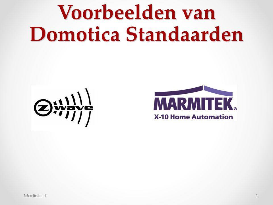 Voorbeelden van Domotica Standaarden