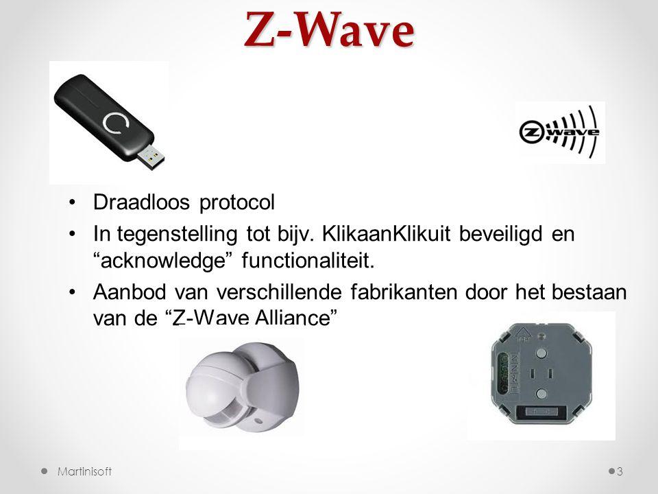 Z-Wave Draadloos protocol