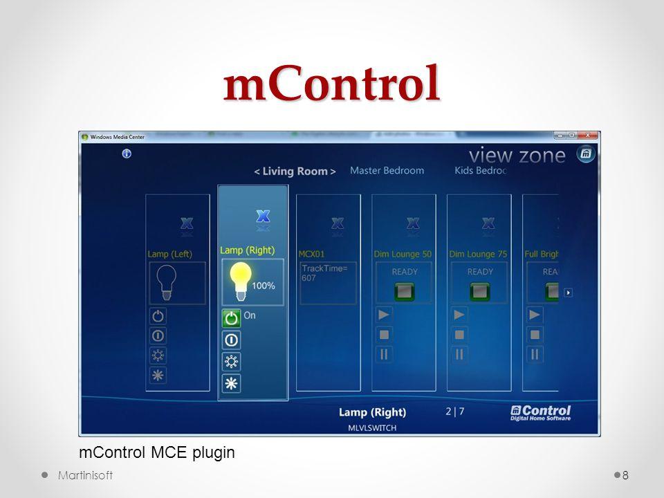 mControl mControl MCE plugin Martinisoft