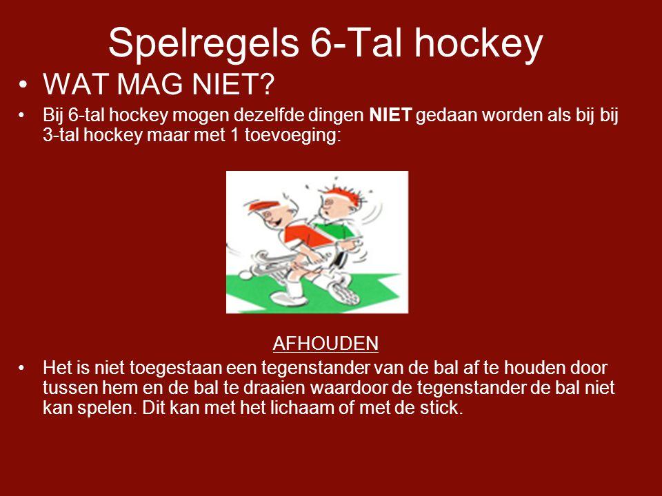 Spelregels 6-Tal hockey