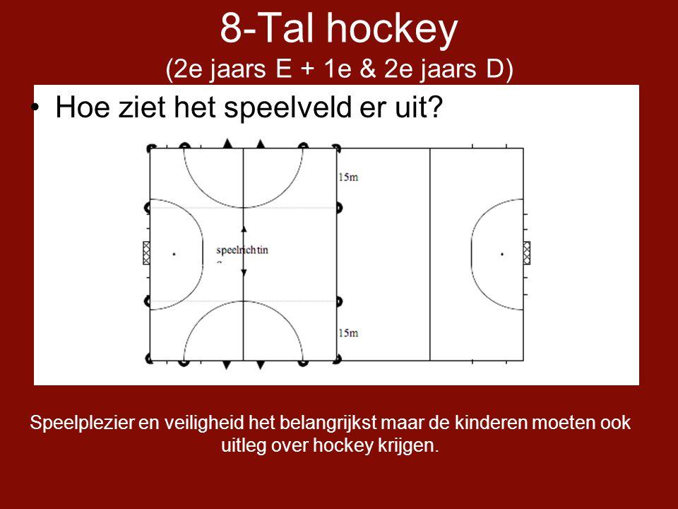 8-Tal hockey (2e jaars E + 1e & 2e jaars D)