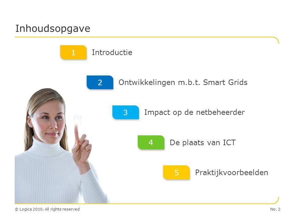 Inhoudsopgave 1 Introductie 2 Ontwikkelingen m.b.t. Smart Grids 3