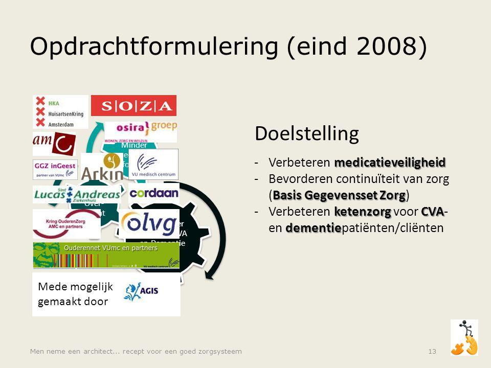 Opdrachtformulering (eind 2008)