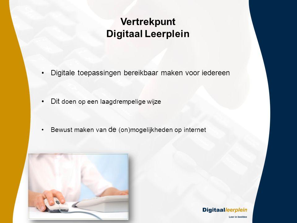 Vertrekpunt Digitaal Leerplein