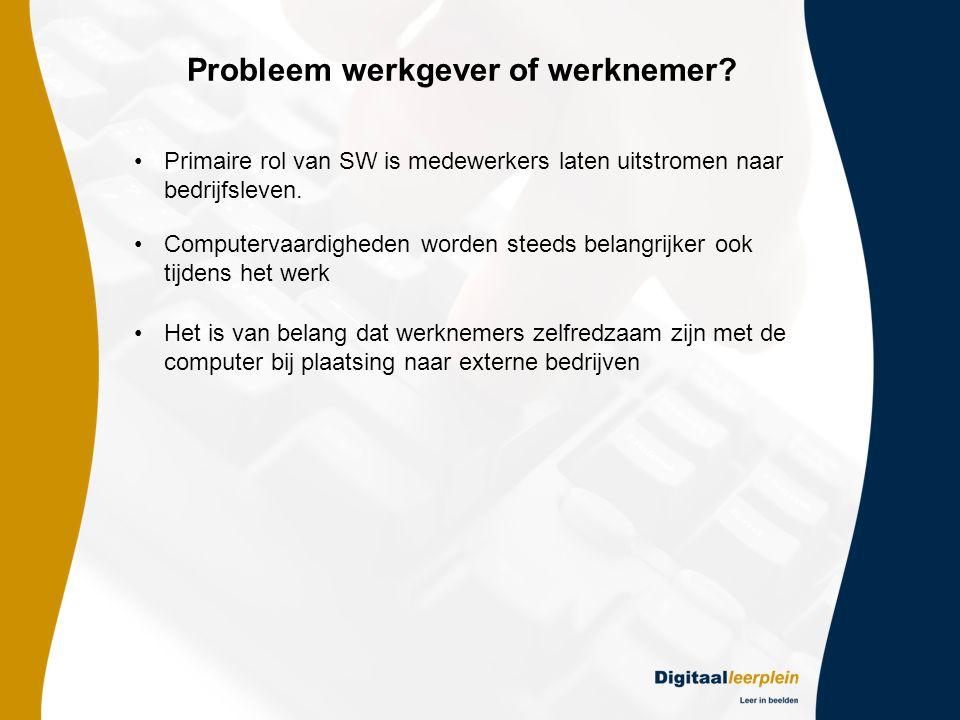 Probleem werkgever of werknemer