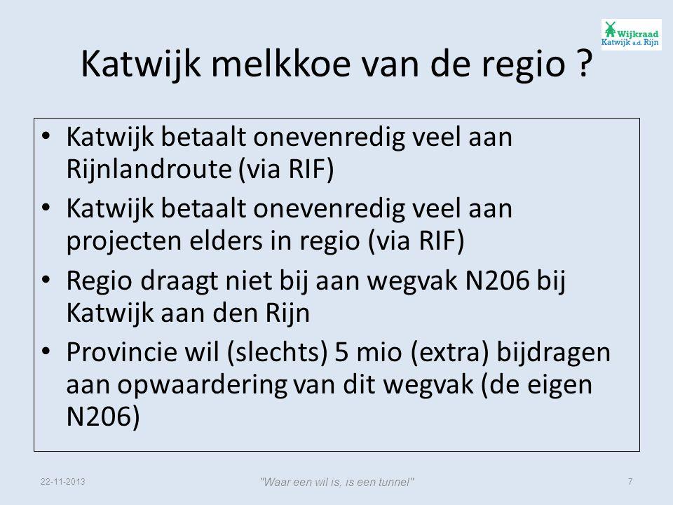 Katwijk melkkoe van de regio